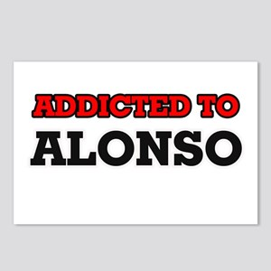 Addicted to Alonso Postcards (Package of 8)