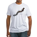Blow The Shofar In Zion Fitted T-Shirt