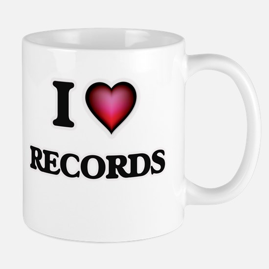 I Love Records Mugs