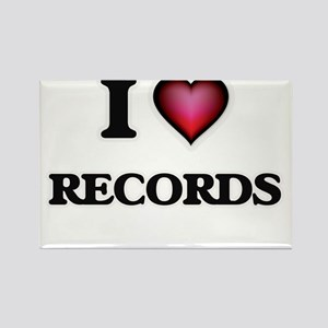 I Love Records Magnets