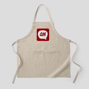 QualityMessage Red Logo Apron
