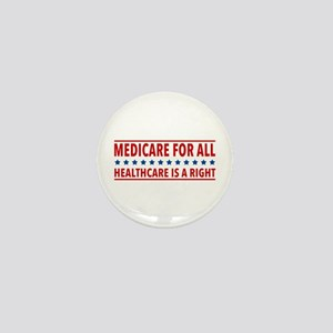 Medicare For All Mini Button