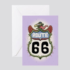 The Monster Road Greeting Card