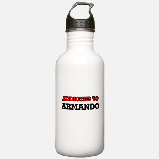 Addicted to Armando Water Bottle
