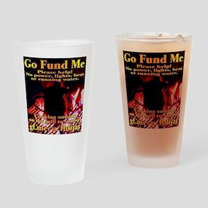 Go Fund Me Drinking Glass