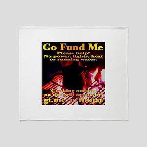 Go Fund Me Throw Blanket