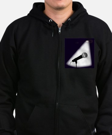 Live on Stage Zip Hoodie (dark)