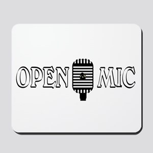 Open Mic Night Mousepad