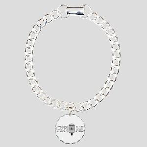 Open Mic Night Charm Bracelet, One Charm