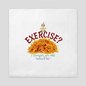 Exercise Queen Duvet