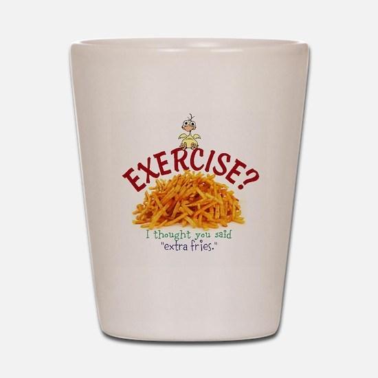 Exercise Shot Glass