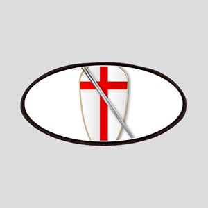 Crusaders Shield and Sword Patch