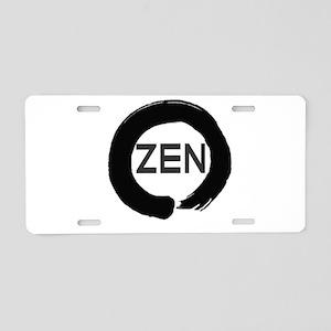 ZEN Aluminum License Plate