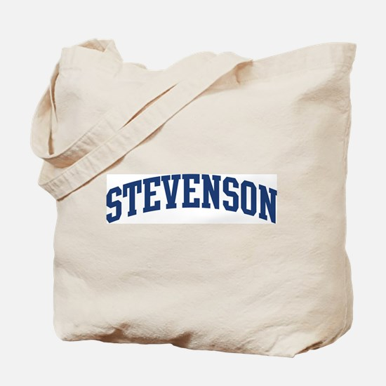 STEVENSON design (blue) Tote Bag