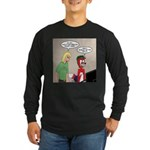 Animation Long Sleeve Dark T-Shirt
