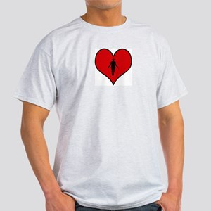 I heart Jump Rope Light T-Shirt