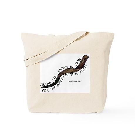 Blow The Shofar In Zion Tote Bag