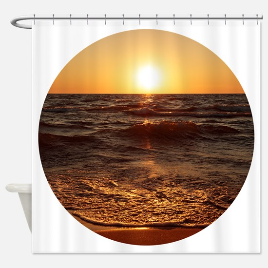 Funny Action Shower Curtain