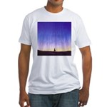 69.levitation. .? Fitted T-Shirt