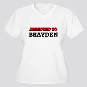 Addicted to Brayden Plus Size T-Shirt