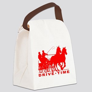 Drive Time - Pairs 2 Canvas Lunch Bag