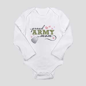 Proud Army Mom Body Suit
