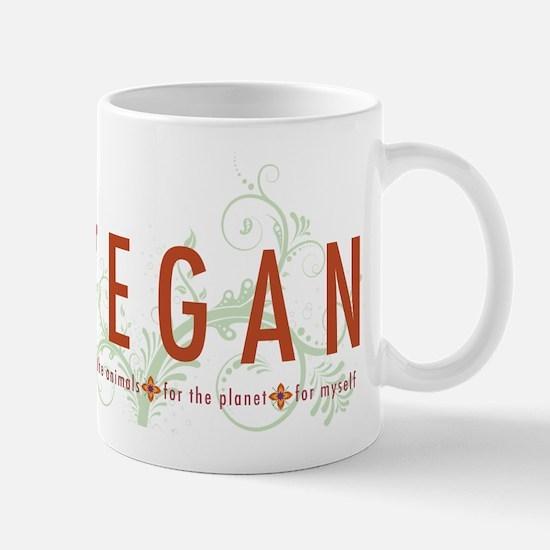 Vegan for the animals Mug