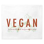 Vegan for the animals King Duvet
