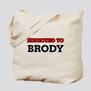 Addicted to Brody Tote Bag