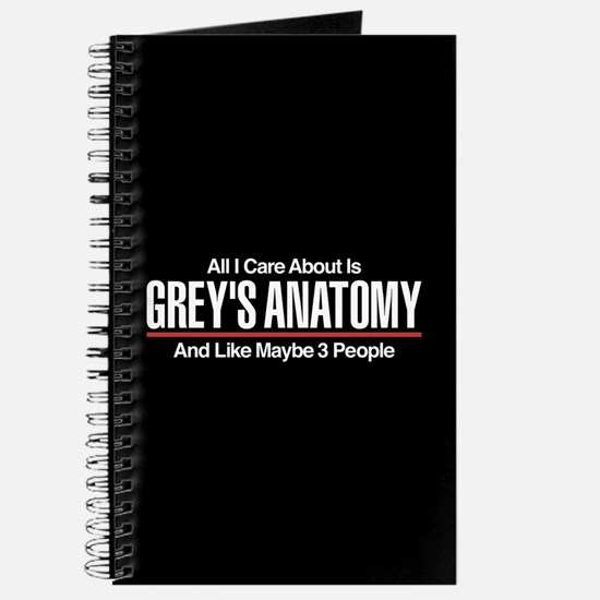 Grey's Care About Maybe 3 People Journal