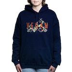 Vegan for the animals Women's Hooded Sweatshirt