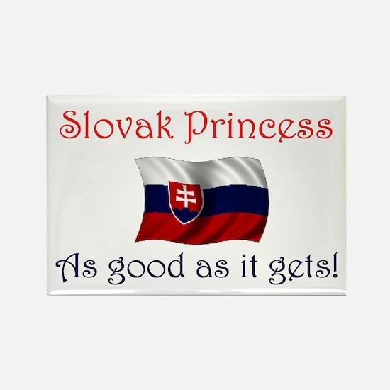 Slovak Princess Rectangle Magnet