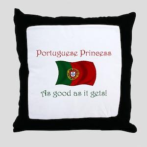 Portuguese Princess Throw Pillow