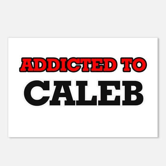 Addicted to Caleb Postcards (Package of 8)