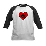 I heart DJ Kids Baseball Jersey