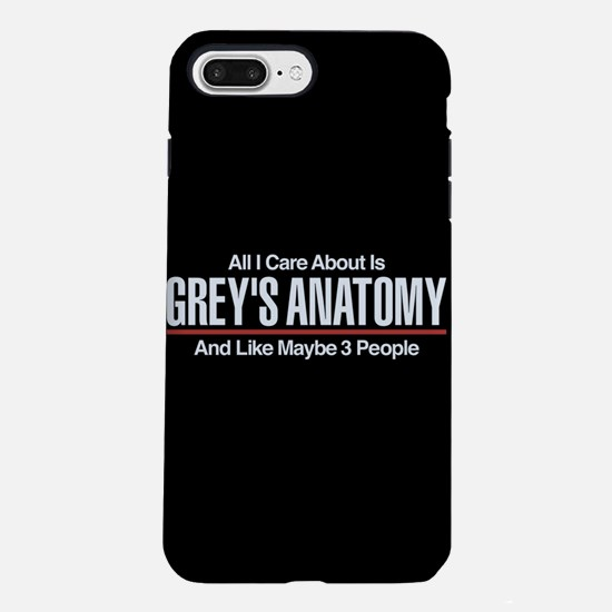 Grey's Care About Maybe iPhone 8/7 Plus Tough Case