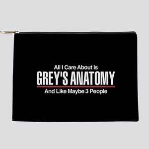 Grey's Care About Maybe 3 People Makeup Bag