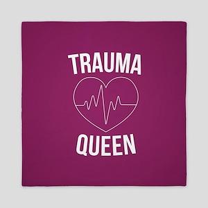 Trauma Queen Queen Duvet