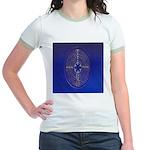 39.chartre labyrinth.. Jr. Ringer T-Shirt