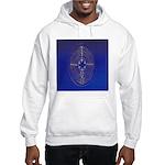 39.chartre labyrinth.. Hooded Sweatshirt