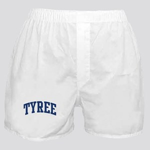TYREE design (blue) Boxer Shorts
