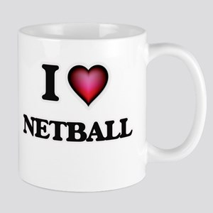 I Love Netball Mugs