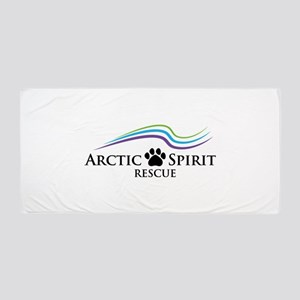 Arctic Spirit Rescue Beach Towel