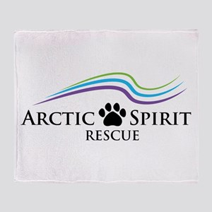 Arctic Spirit Rescue Throw Blanket