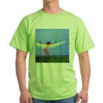 04.rootz &wingz Green T-Shirt