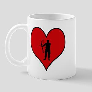 I heart Archery Mug