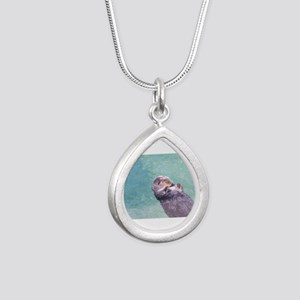 Sleeping Sea Otter Necklaces