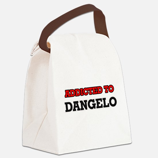Addicted to Dangelo Canvas Lunch Bag