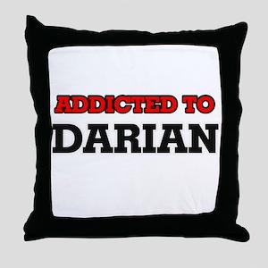 Addicted to Darian Throw Pillow