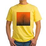 07.spring equinox tree. . ? Yellow T-Shirt